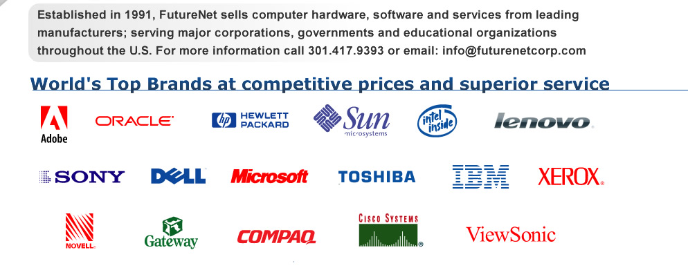 FutureNet Corporation | Authorized reseller of Dell, HP,